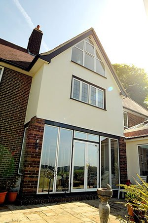 Aluminium French Doors Kingswood