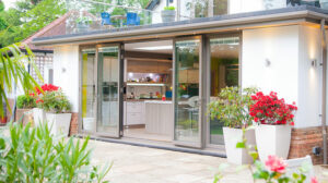 Showroom Bifold Doors