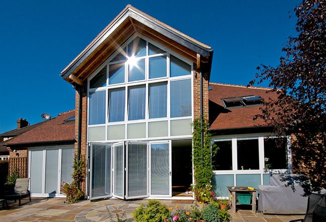 Aluminium Bi folding Doors Warlingham, UK