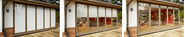 Blinds for Bifold Doors in Surrey
