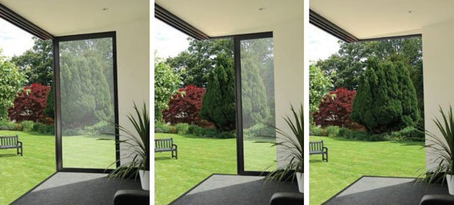 Greenways Superslide Doors & Aluminium Sliding Doors - see the Exclusive SuperSlide Door