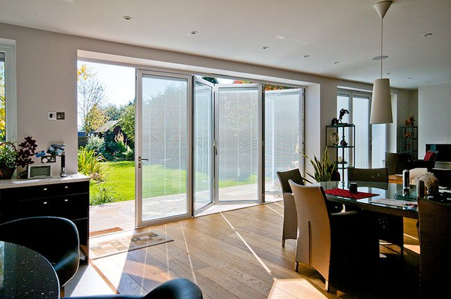 Integral Blinds for Bifolding Doors