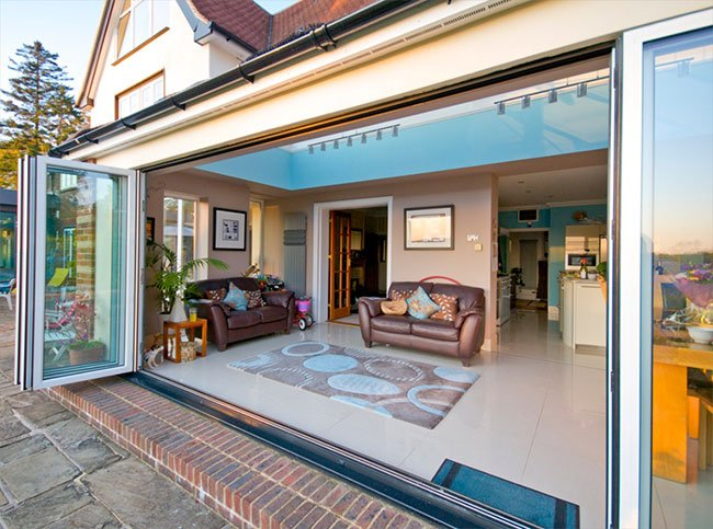 Tadworth Bifolding Doors