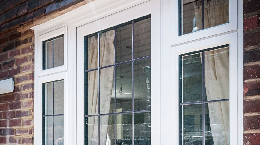 Replacement Windows with Leaded Lights